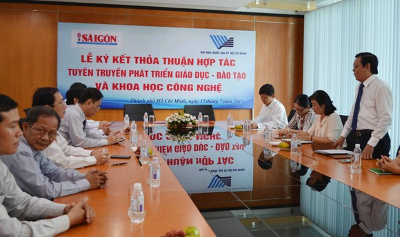 Báo SGGP và ĐH Quốc gia TPHCM hợp tác tuyên truyền phát triển giáo dục ảnh 3