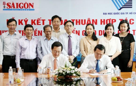Báo SGGP và ĐH Quốc gia TPHCM hợp tác tuyên truyền phát triển giáo dục ảnh 4