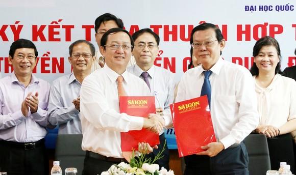 Báo SGGP và ĐH Quốc gia TPHCM hợp tác tuyên truyền phát triển giáo dục ảnh 5