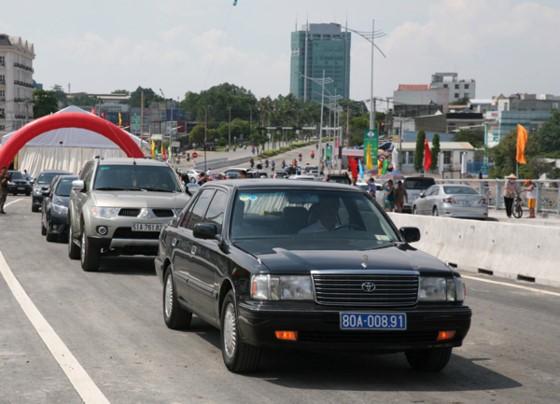 Dong Nai allows vehicles traveling through An Hao Bridge ảnh 1
