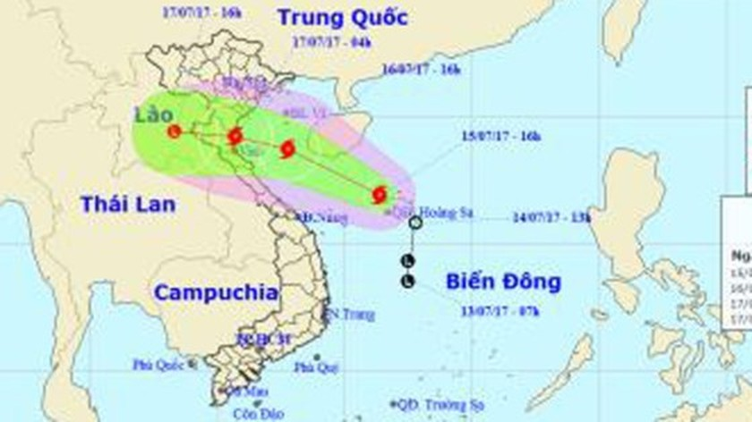 Typhoon 'Talas' approaching north- central provinces ảnh 1