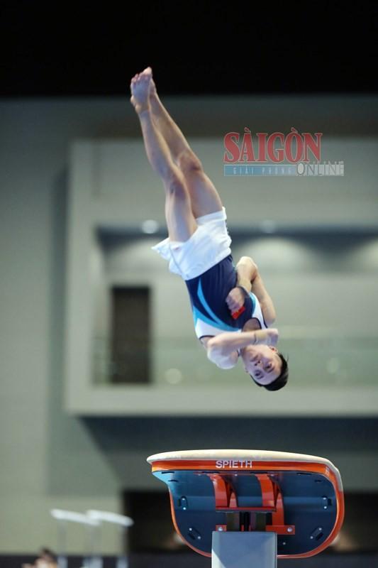 Vietnamese gymnasts win gold medal at SEA Games 2017 ảnh 2
