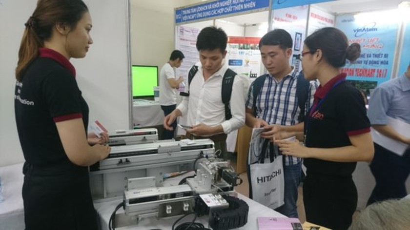 Over 150 products showcased in Automation Techmart 2017 ảnh 1