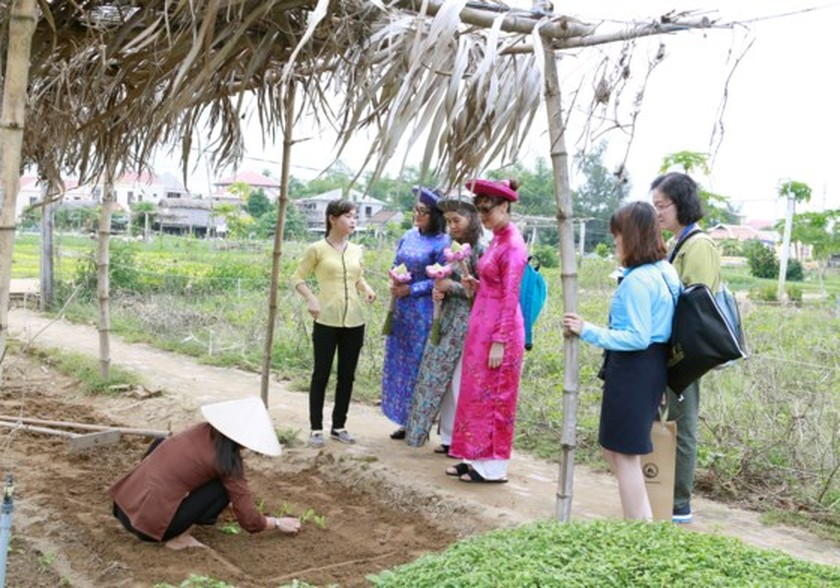 APEC ministers' excellency experience cultural heritage of Quang Nam  ảnh 4