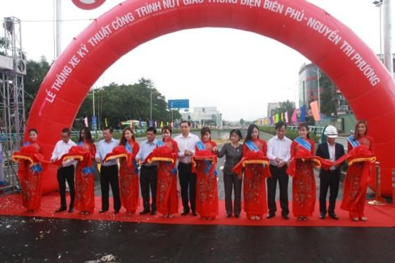 Da Nang opens to traffic for Dien Bien Phu- Nguyen Tri Phuong tunnel ảnh 1