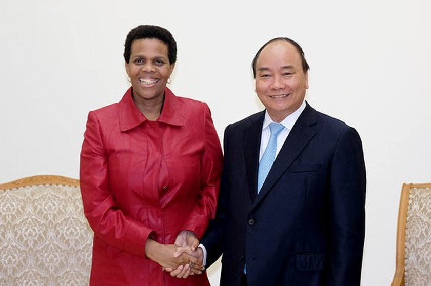 Vietnamese PM welcomes Minister of Foreign Affairs of Liberia  ảnh 1