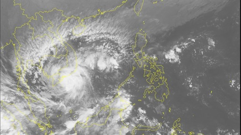 Super storm Tembin to make landfall in southern region on December 26 ảnh 1
