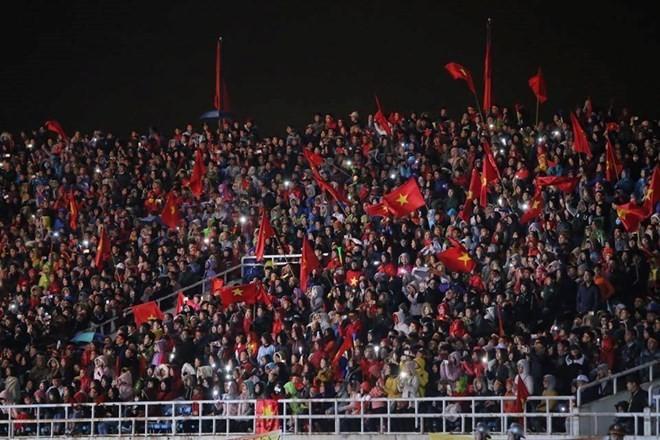 U23 football team honoured at grand ceremony ảnh 6
