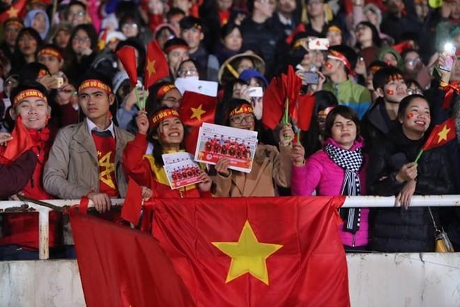 U23 football team honoured at grand ceremony ảnh 5