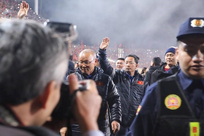 U23 football team honoured at grand ceremony ảnh 3
