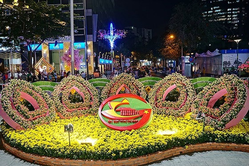 Nguyen Hue Flower Street attracts over one million visitors  ảnh 1