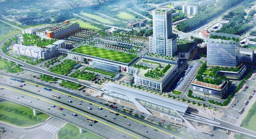 HCMC begins construction of new Mien Dong coach station ảnh 1