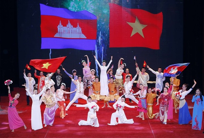 Grand ceremony marks 50 years of Vietnam- Cambodia diplomatic ties ảnh 2