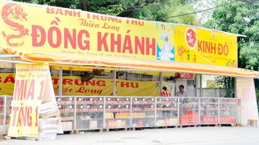 Full moon cake market no longer fertile business segment ảnh 1