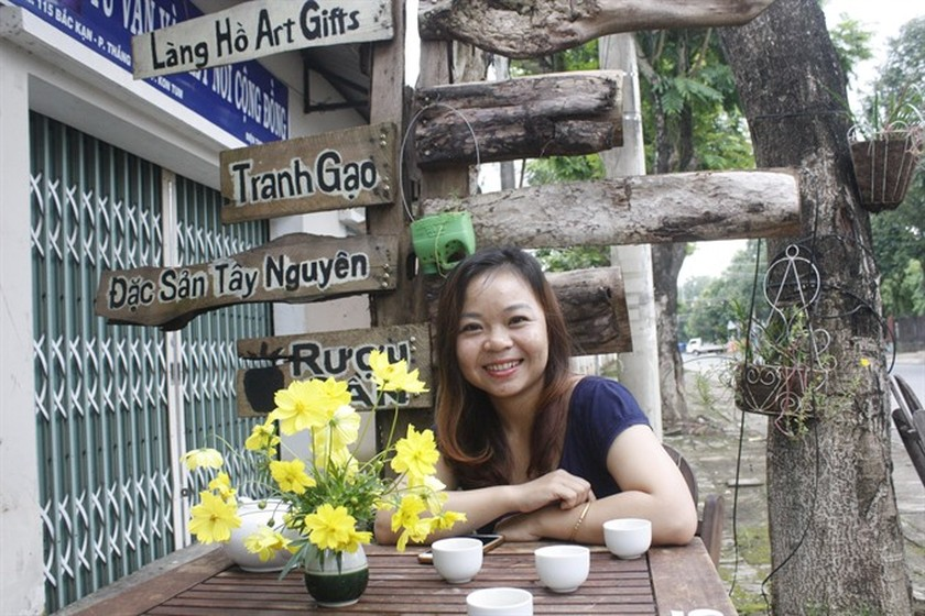Rice paintings in Kon Tum highlight Central Highlands ảnh 1
