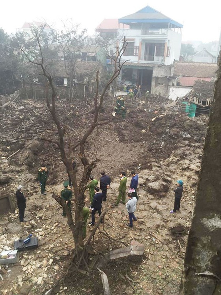 Nine causalities reported after big explosion in Bac Ninh province ảnh 3