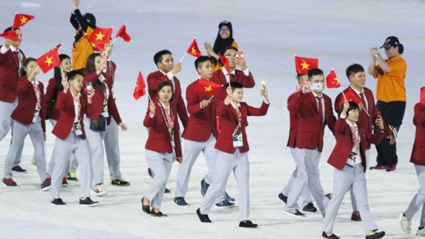 SEA Games 29 opened  ảnh 4