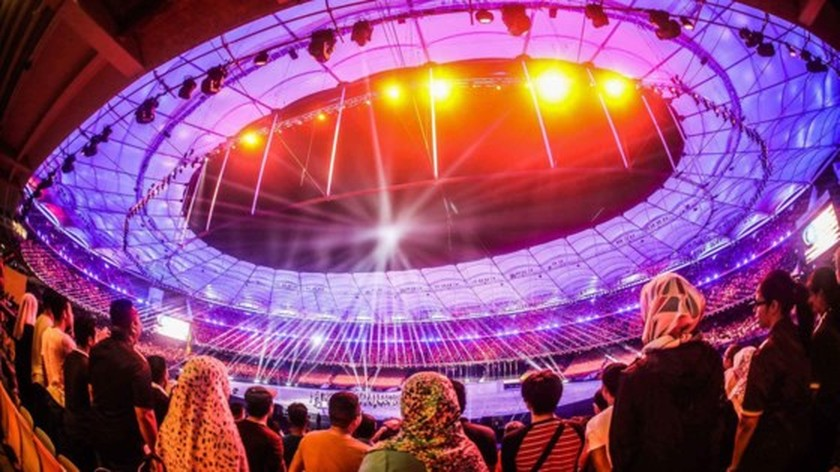SEA Games 29 opened  ảnh 1