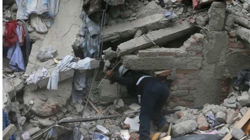 Nearly 140 killed in powerful Mexico quake ảnh 3