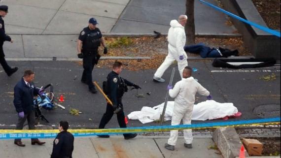 Eight dead in suspected terrorist truck attack on Manhattan bike path ảnh 2