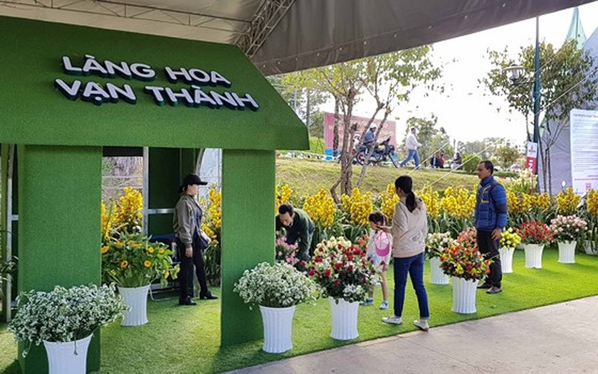 VIDEO: Visitors enjoy high-tech agriculture fair in Dalat ảnh 3