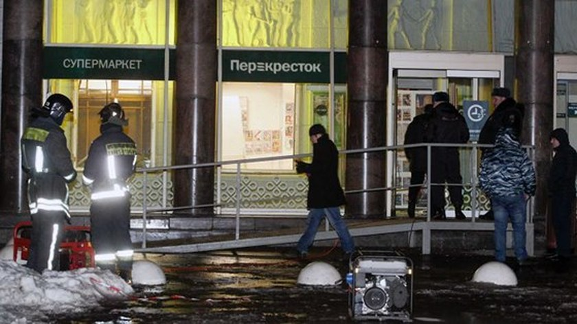10 hurt in Saint Petersburg supermarket bombing  ảnh 1