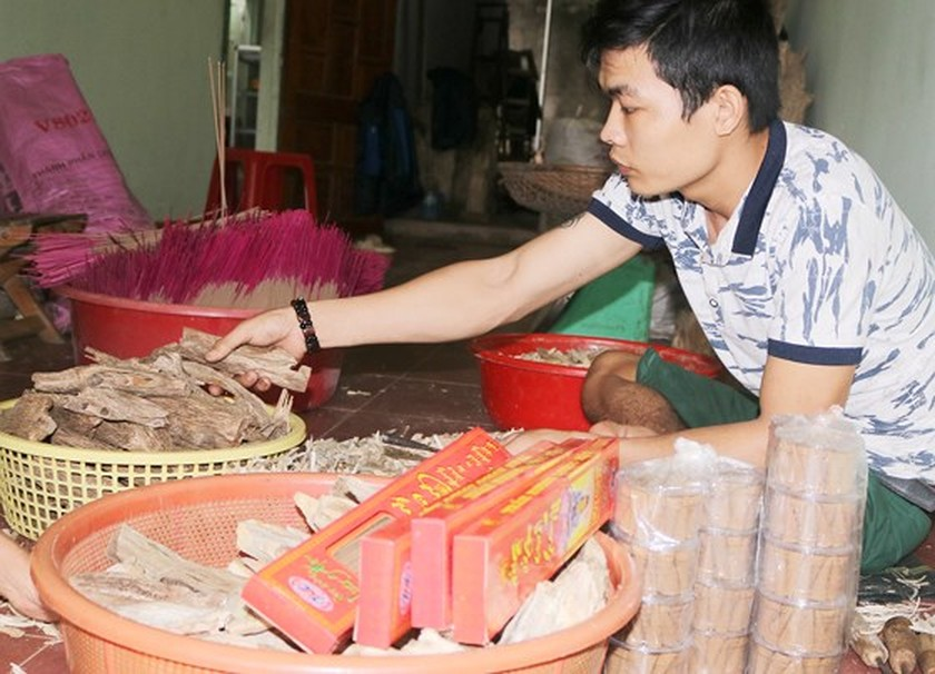 Craft villages prepare for Tet ảnh 5