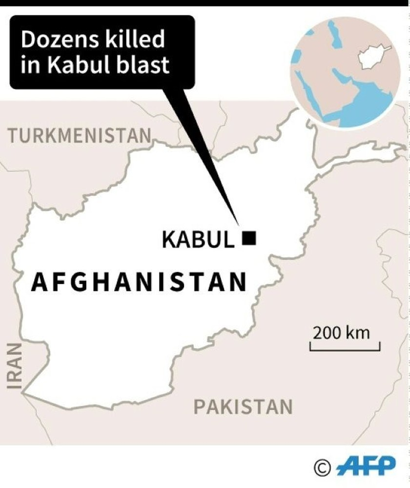 Ambulance bomb kills 95, wounds 158 in Kabul: official  ảnh 1