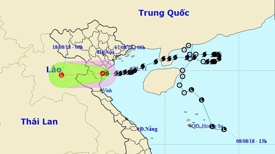 Typhoon Bebinca weakens to tropical low-pressure system ảnh 1