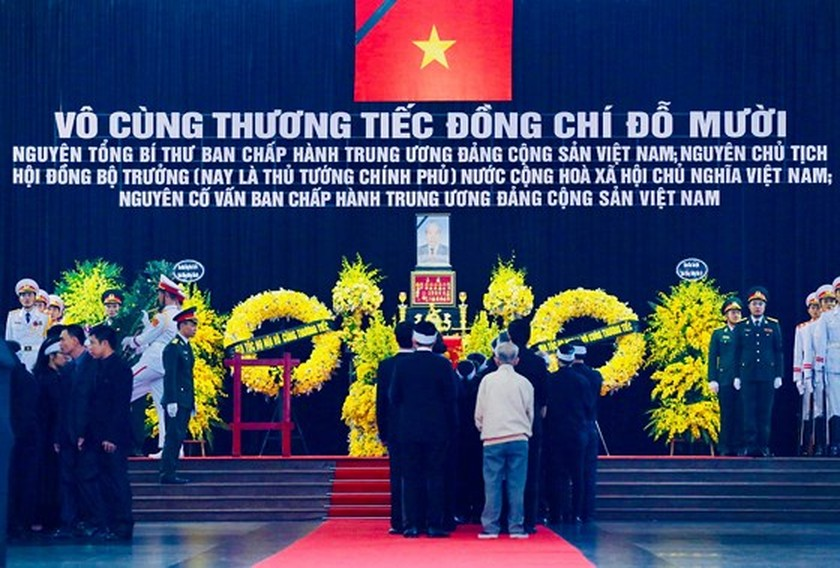 State funeral begins for former Party General Secretary Do Muoi ảnh 1