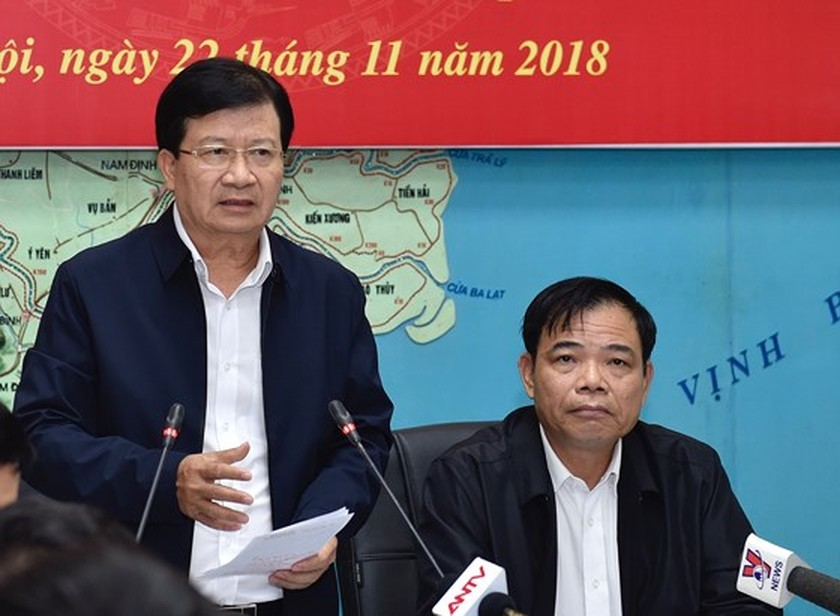 Authorities must prepare for typhoon: Deputy PM Dung ảnh 1