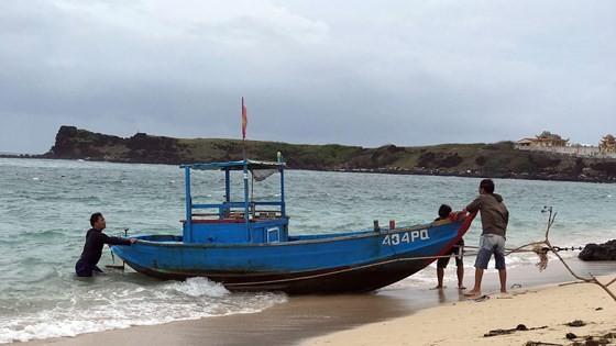 Phu Quy Island District prepares for 9th typhoon ảnh 1
