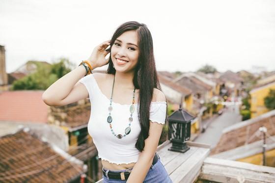 Miss Vietnam 2018 Tieu Vy introduces Hoian to Miss World ảnh 3