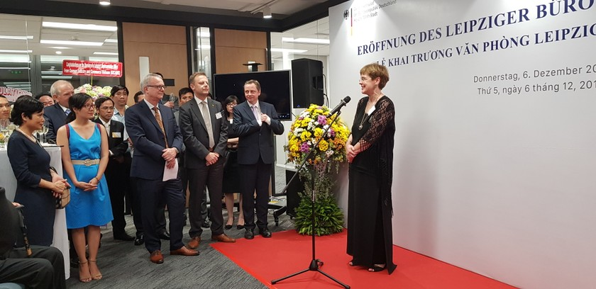 Leipzig's representative office opens in HCMC ảnh 1
