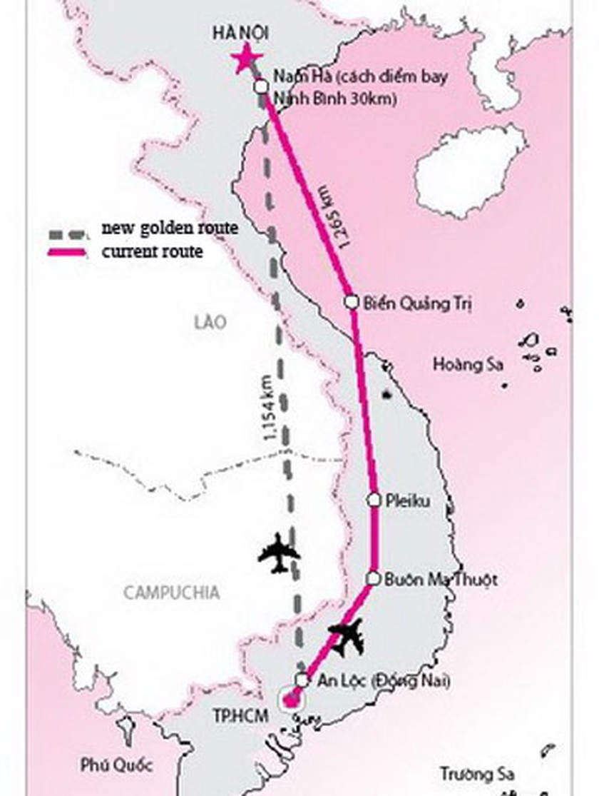 Air authority accepts new flight route plans   National   SGGP ...