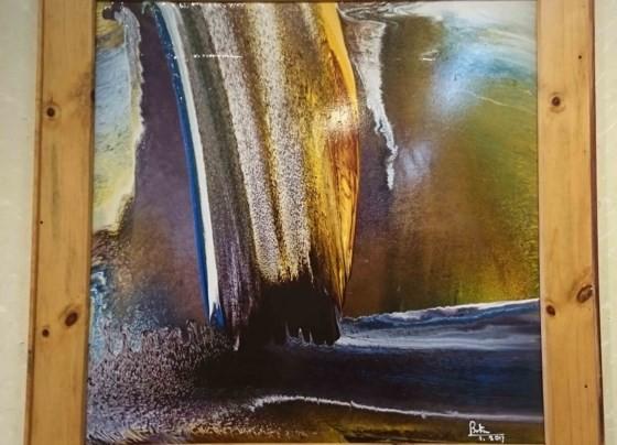 """Triển lãm """"Linh hồn màu sắc"""" qua tranh vẽ bằng ngón tay ảnh 5"""