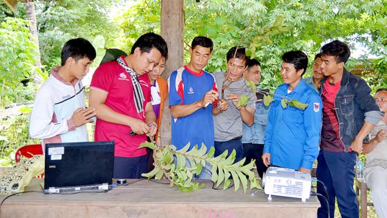 Sức trẻ tình nguyện trên đất bạn Lào ảnh 3