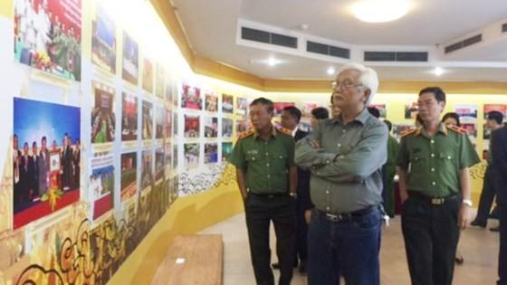 Triển lãm hợp tác phòng chống tội phạm của công an Campuchia- Lào- Việt Nam ảnh 2