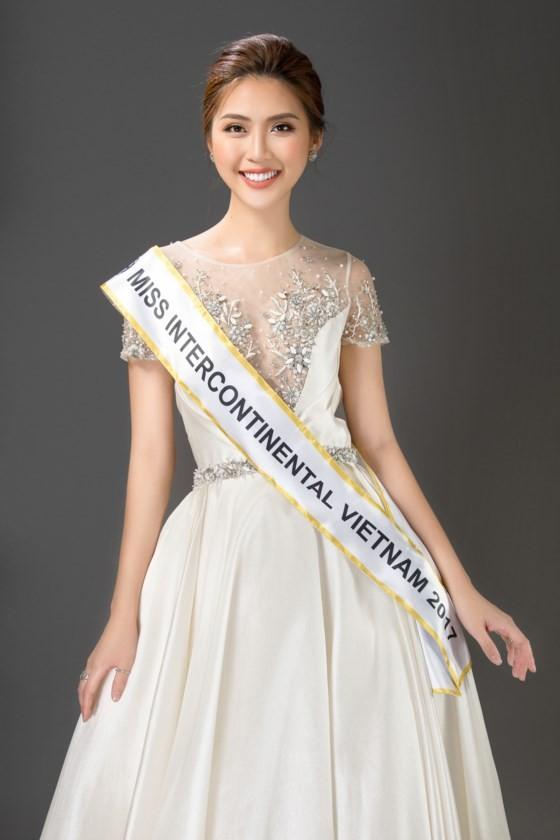 Á quân The Face 2017 Tường Linh đại diện Việt Nam tham dự Miss Intercontinental 2017 ảnh 2