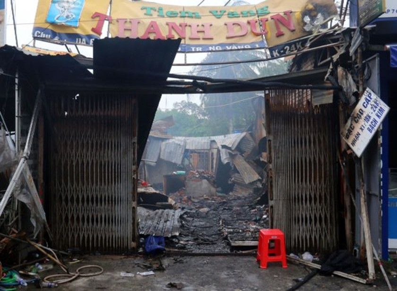 Cháy chợ tại Kiên Giang, 3 người chết ảnh 2