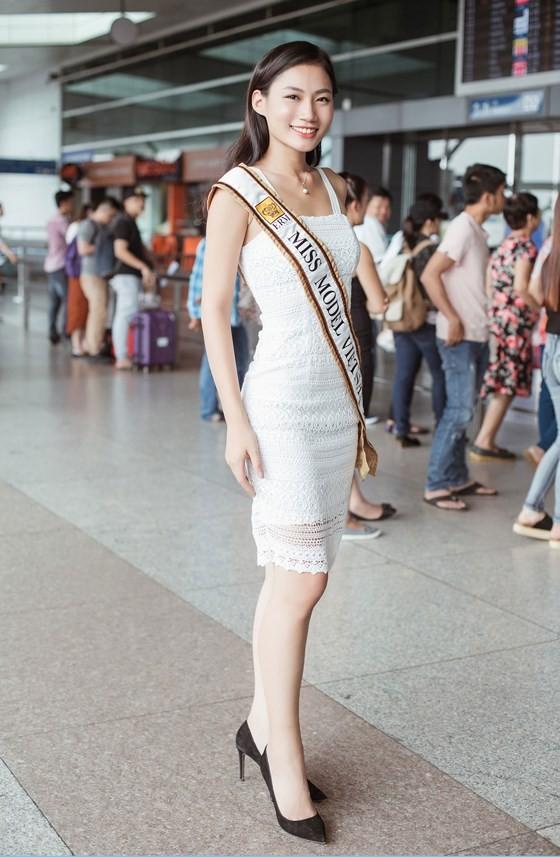Đỗ Trịnh Quỳnh Như đại diện Việt Nam dự thi Miss Model of the World 2017 ảnh 6
