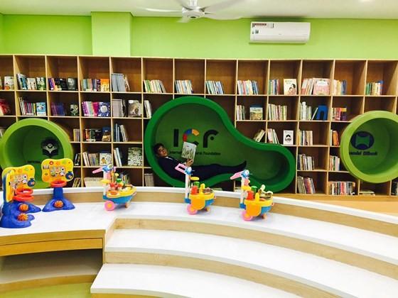 Khai trương thư viện đa phương tiện đầu tiên dành cho thiếu nhi ảnh 2
