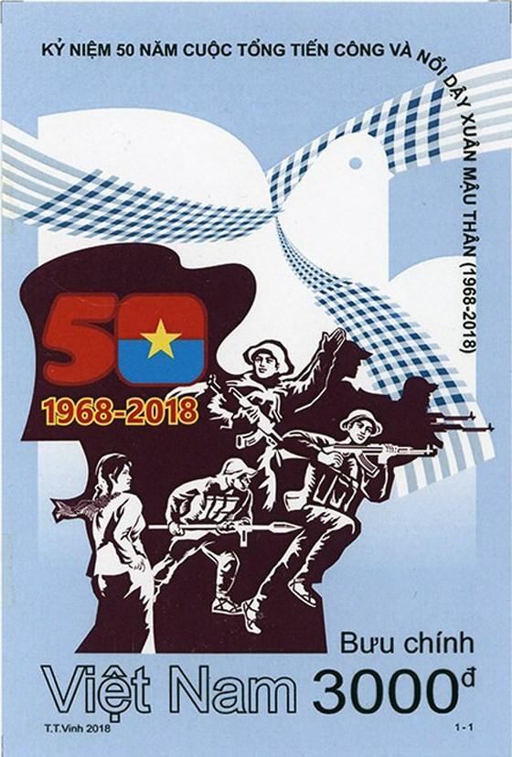 Phát hành bộ tem kỷ niệm 50 năm Tổng tiến công và nổi dậy Xuân Mậu Thân 1968 ảnh 2