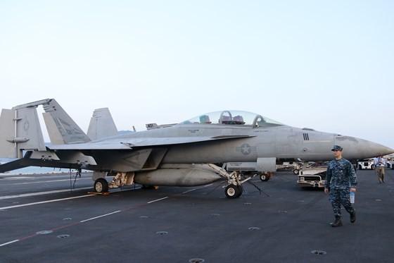 Tận mắt chiêm ngưỡng tàu sân bay USS Carl Vinson tại Đà Nẵng ảnh 10