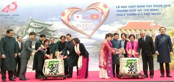 Khai mạc Lễ hội Việt Nam tại Aichi 2018 ảnh 3