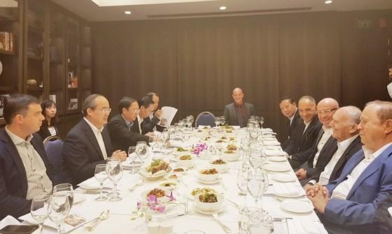 Bí thư Thành ủy TPHCM Nguyễn Thiện Nhân dự hội thảo các giải pháp đô thị thông minh tại Israel ảnh 1