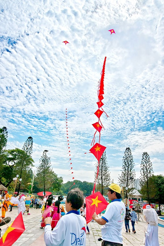 Lễ hội diều mùa hè 2018 ảnh 1