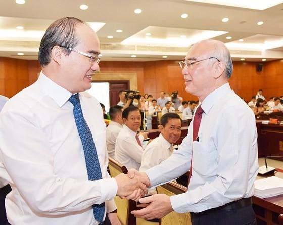 """Bí thư Thành ủy TPHCM Nguyễn Thiện Nhân: """"Muốn chống bạo loạn, cái gốc là an dân"""" ảnh 2"""
