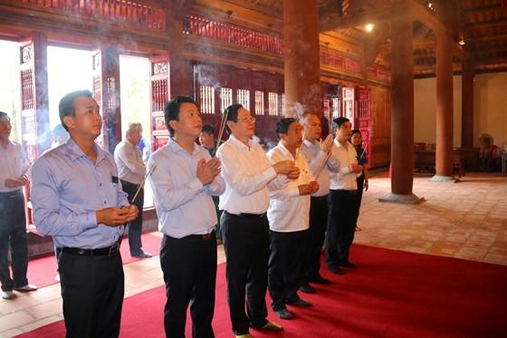 Khánh thành đền thờ Ngã ba Đồng Lộc ảnh 1