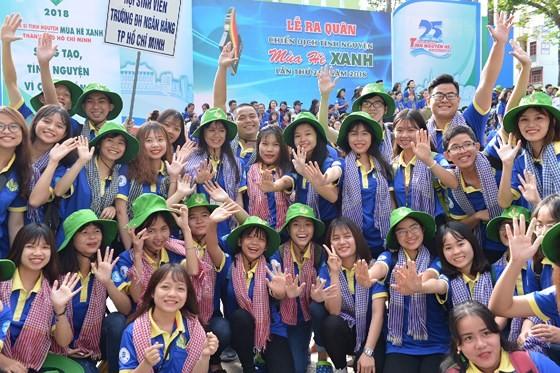 Ra quân Chiến dịch tình nguyện Mùa hè xanh lần thứ 25, năm 2018 ảnh 2
